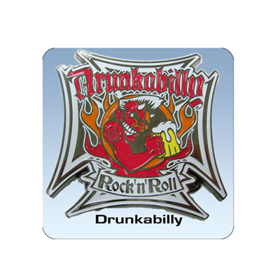 Drunkabilly buckle