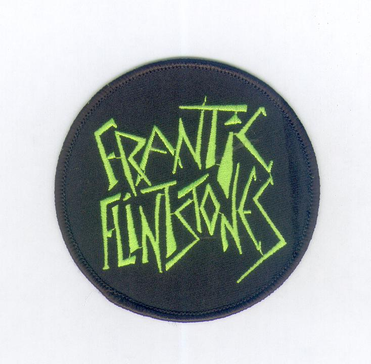 Frantic Flintstones Patch Green