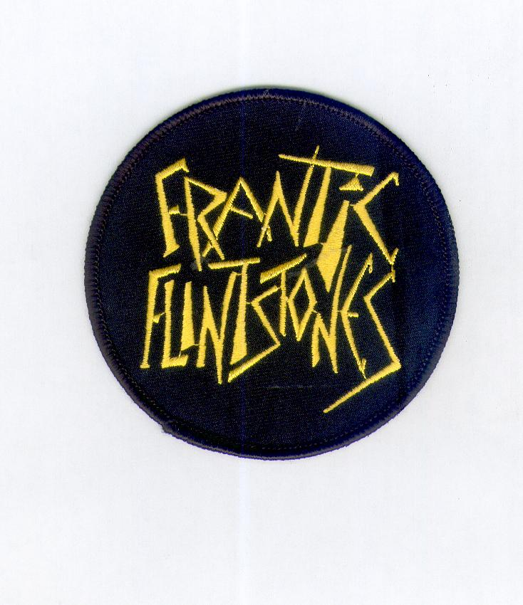 Frantic Flintstones Patch Yellow
