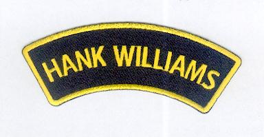 Hank Williams Patch