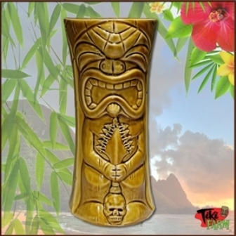 Ku kaili moku, Large, Golden BrownTiki Mug