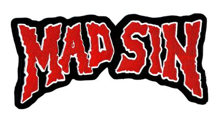 Mad Sin back patch Red