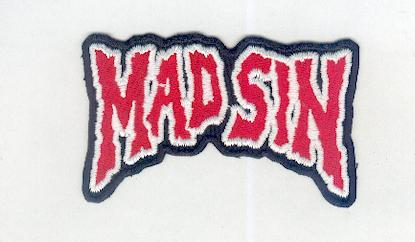 Mad Sin patch red