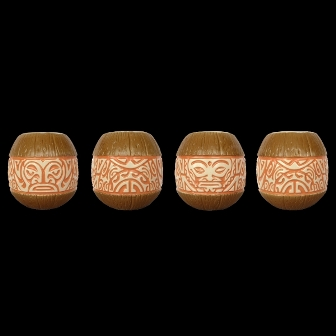 Marqo -Coco( orange ) tiki Mug