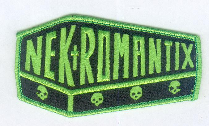 Nekromantix Fluo Green Patch