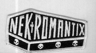 Nekromantix patch white