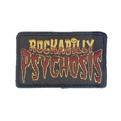 Rockabilly Psychosis Patch Red/Yellow