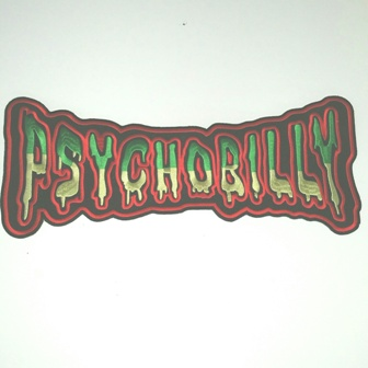 Big Backpatch : Psychobilly Coloured