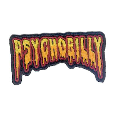 Psychobilly Patch Colour