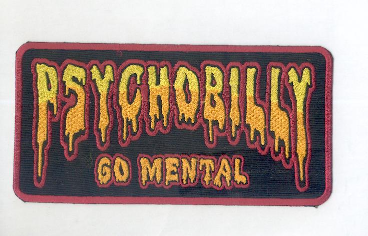 Psychobilly Back Patch