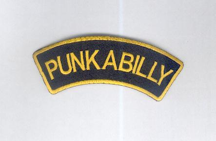 Punkabilly Patch