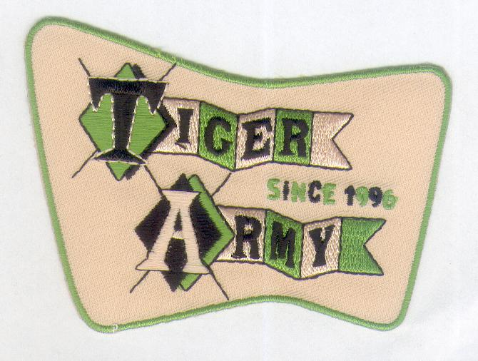Tiger Army Patch