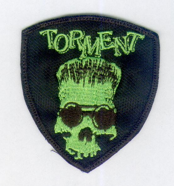 Torment Green Skull Patch