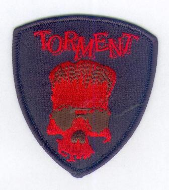 Torment Red Skull Patch