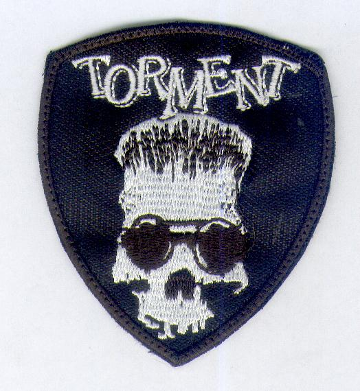Torment White Skull Patch
